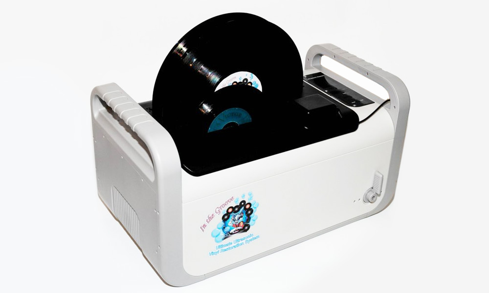 Kirmuss KA RC1 Ultrasonic Record Cleaning Machine