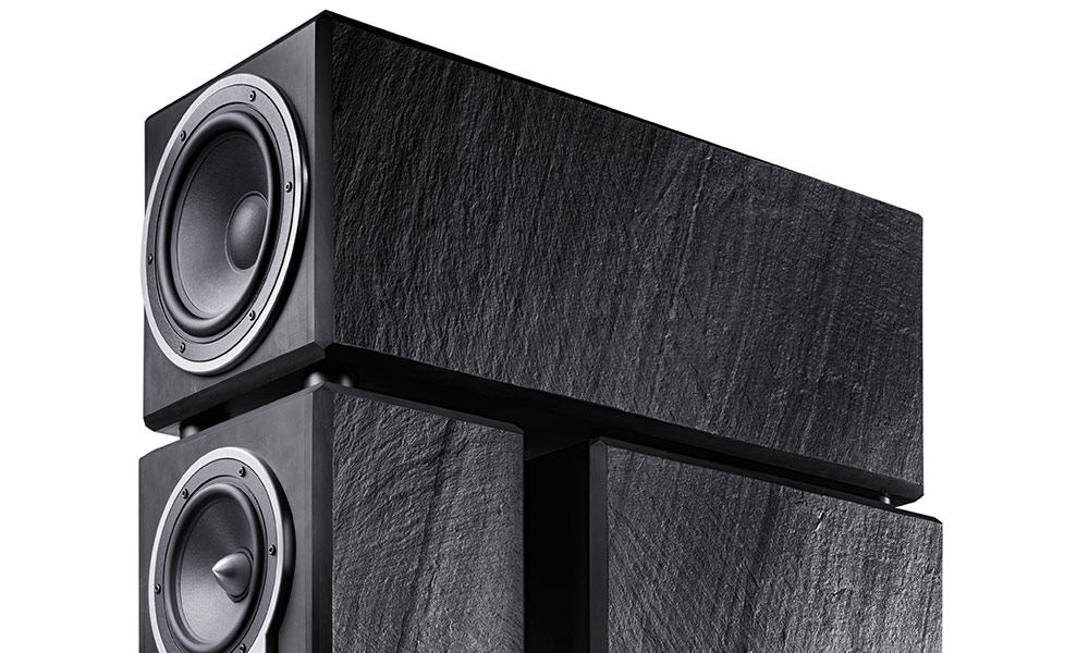 Fischer & Fischer slate speakers