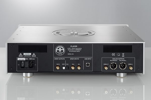 Accustic Arts Player I CD Player & DAC Back