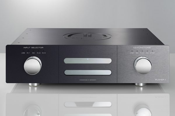Accustic Arts Player I CD Player & DAC Black