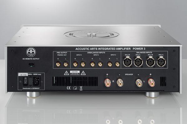 Accustic Arts Power I Integrated Amplifier Back