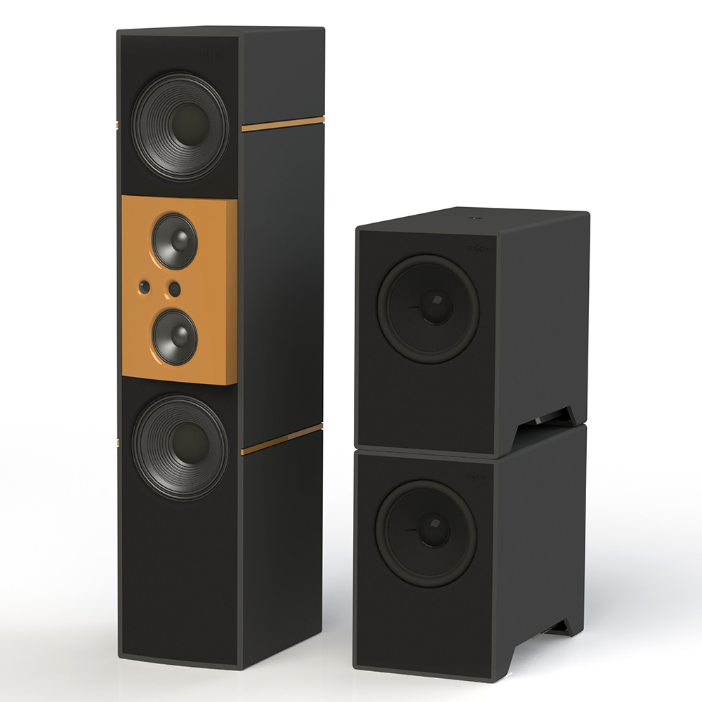 Stenheim Reference Infinite 4 Way Floor Standing Speaker with Sub-Woofers