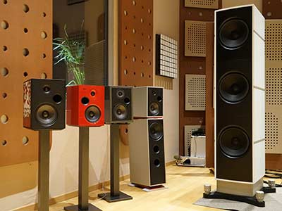 Some of the Stenheim speaker family