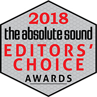 the absolute sound Editors' Choice Award 2018