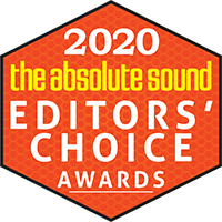 the absolute sound Editors' Choice Award 2020