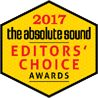 the absolute sound Editors' Choice Award 2017