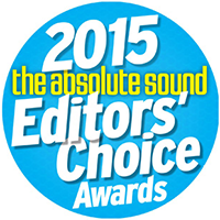 the absolute sound Editors' Choice Award 2015