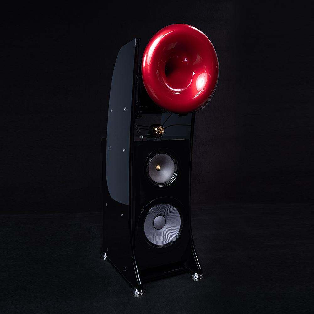 Cessaro Horn Acoustics Alpha III 4-Way Horn Loaded Floor Standing Loudspeaker
