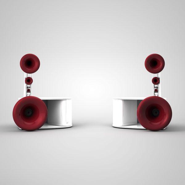 Cessaro Horn Acoustics Beethoven II F4 5-Way Horn Loaded Floor Standing Loudspeaker