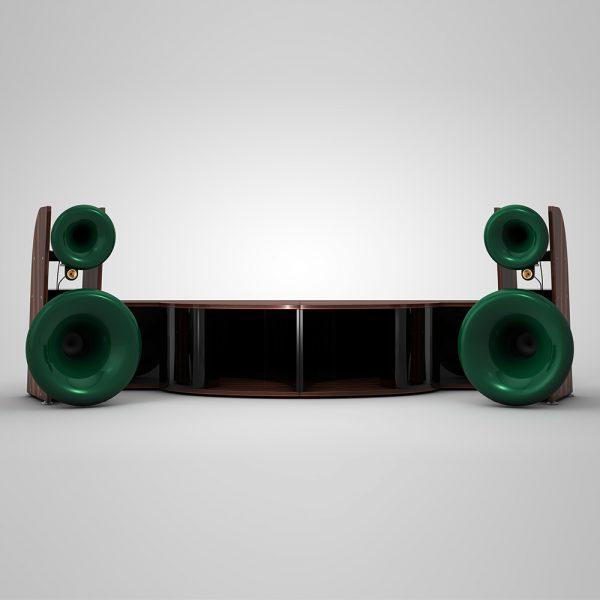 Cessaro Horn Acoustics Beta II F4 4-Way Horn Loaded Floor Standing Loudspeaker