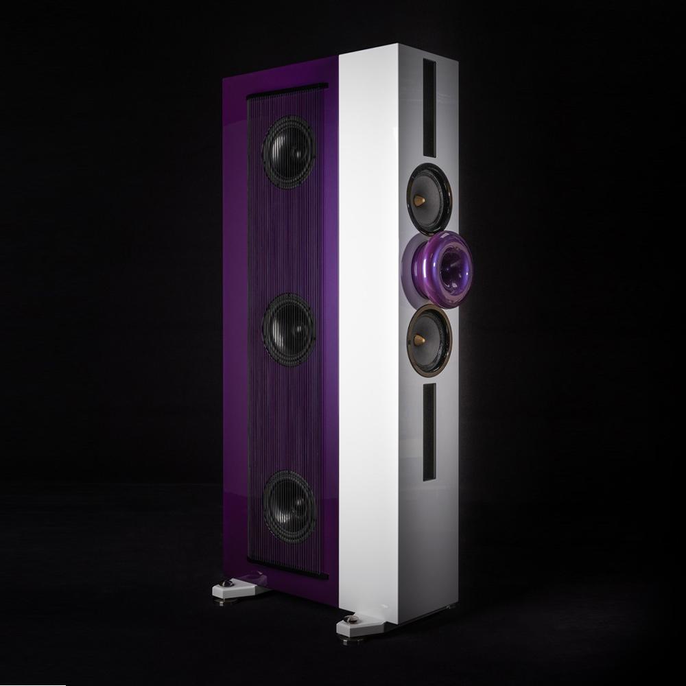 Cessaro Horn Acoustics FireBird 3-Way Horn Hybrid Floor Standing Loudspeaker