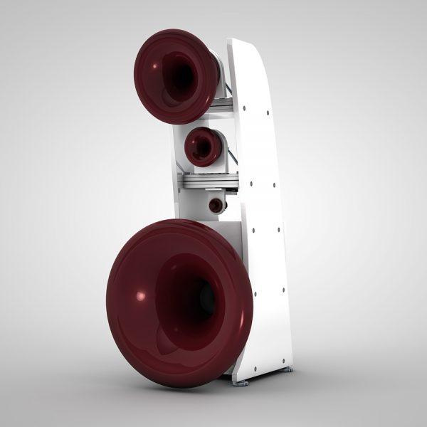 Cessaro Horn Acoustics Gamma II F8 5-Way Horn Loaded Floor Standing Loudspeaker