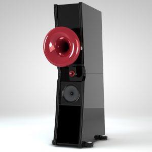 Cessaro Horn Acoustics Liszt II 4-Way Horn Loaded Floor Standing Loudspeaker