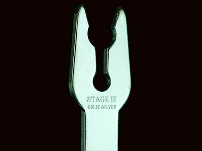 Stage III Solid Silver Spade