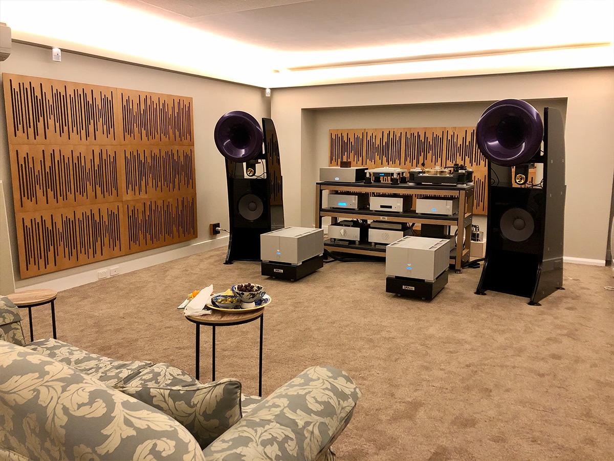 Knox Audio listening room