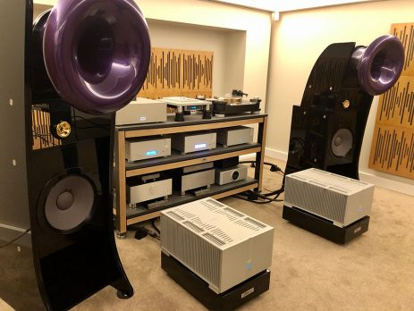 Knox Audio Listening Room
