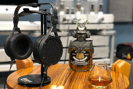 Abyss Headphones and whisky