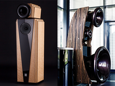 Cessaro Artdeco and Gamma II Speakers