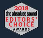 2018 Absolute Sound Editors choice award