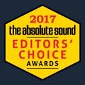 2017 Absolute Sound Editors choice award