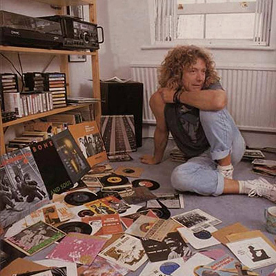 Robert Plant and records