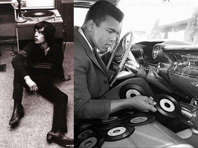 Mick Jagger, Mohammad Ali