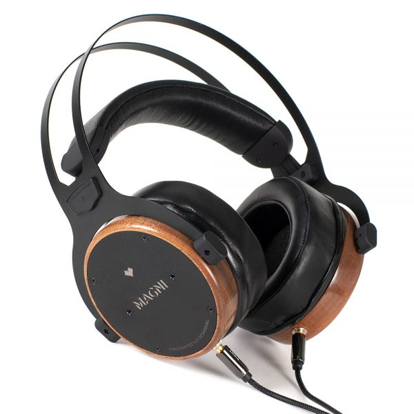 Kennerton Audio Magni Karelian European Walnut High Performance Graphene Membrane Headphones