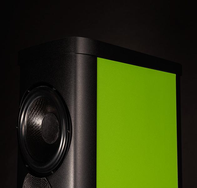 Precision finish: Verde