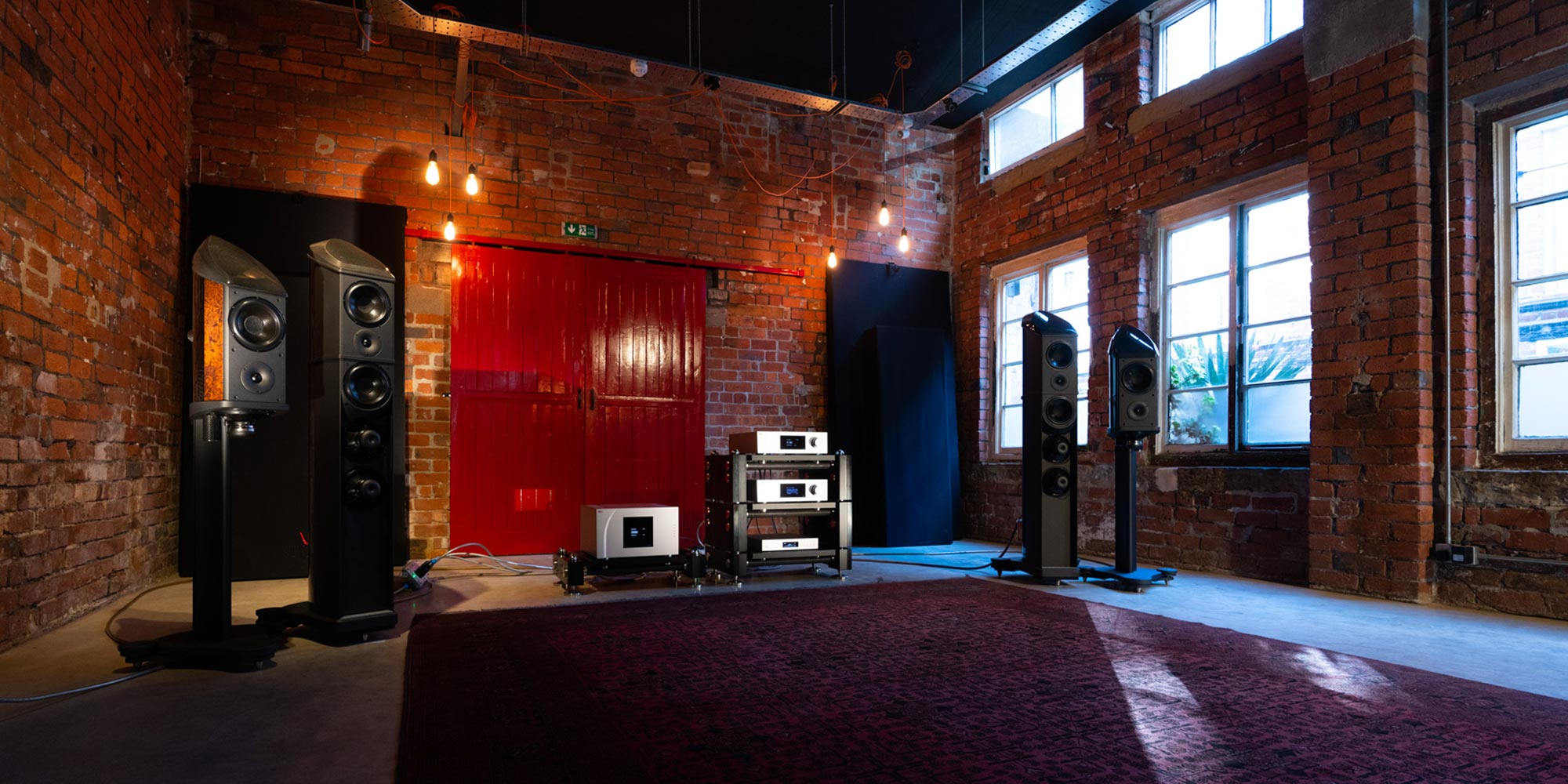 Wilson Benesch Show Red Door