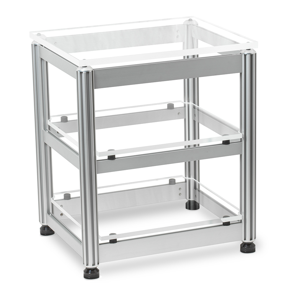 AG Lifter Euphonious Reference 3 or 4 Shelf Isolation Rack