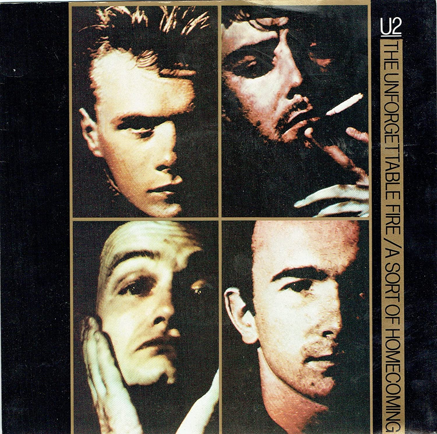 U2 ‎– The Unforgettable Fire / A Sort Of Homecoming