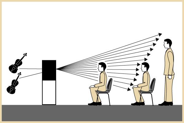 Conventional Loudspeaker Diagram
