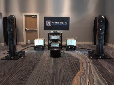 The Holy Trinity - Aaudio Imports room