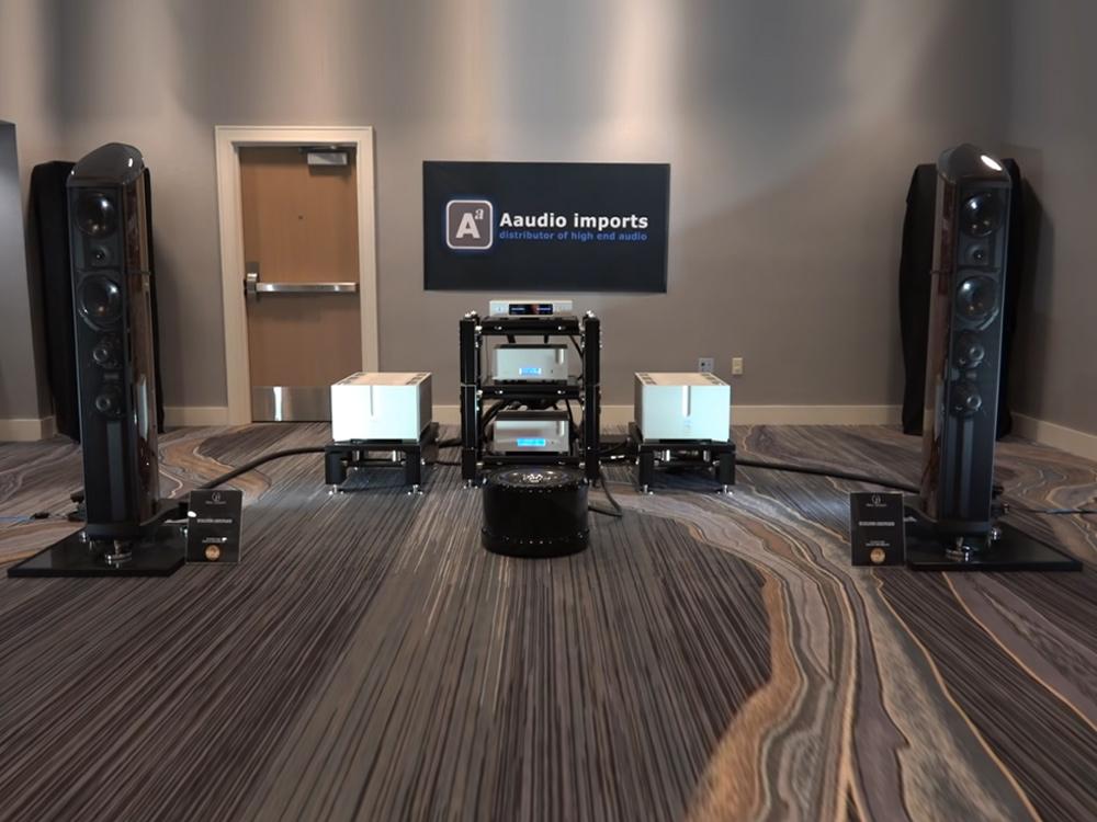 The Holy Trinity - Aaudio Imports room
