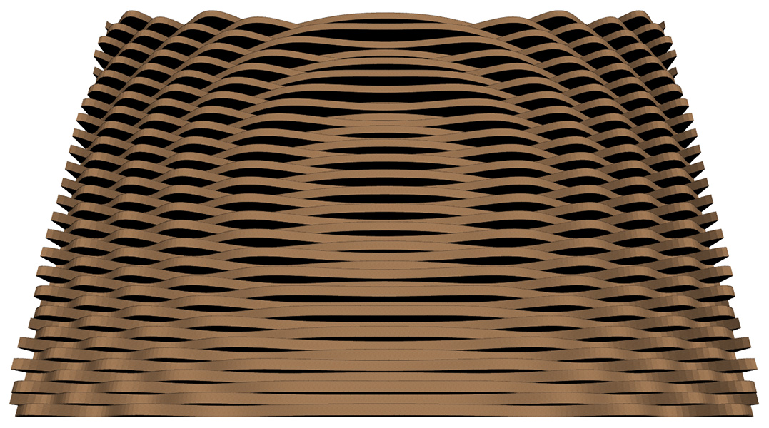 RD Acoustic Hybrid Diffuser CGA Dispersion Pattern 3