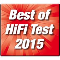 Best of HiFi Test 2015 Award