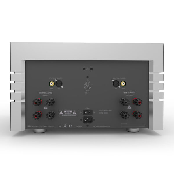 German Physiks Emperor Extreme Stereo - Reference Stereo Power Amplifier