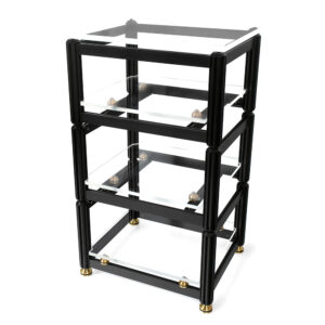AG Lifter Crescendo Gold Statement 4 Shelf Isolation Rack