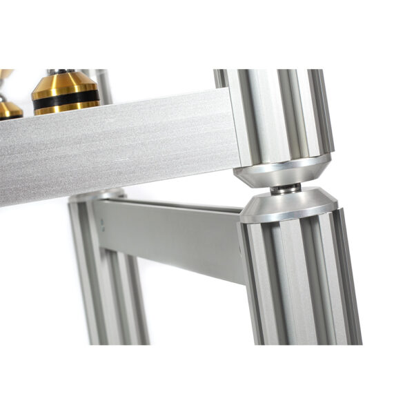 AG Lifter Crescendo Gold Statement 4 Shelf Isolation Rack