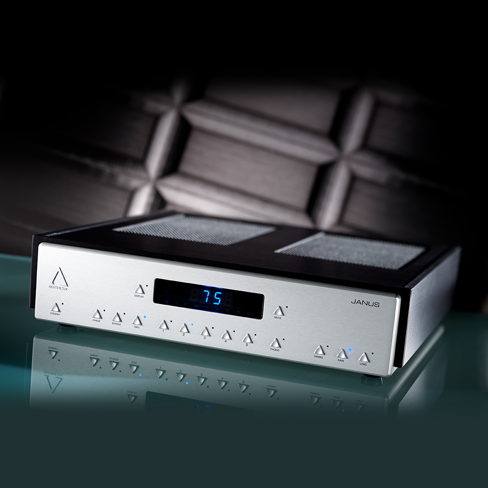 Aesthetix Janus Saturn Series Full Function Preamplifer with Phono Stage