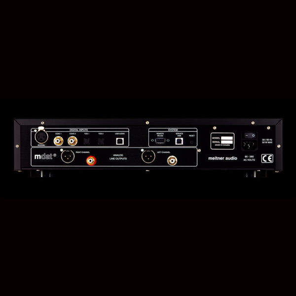Meitner Audio MA-1 V2 Meitner Audio 2 DAC with USB