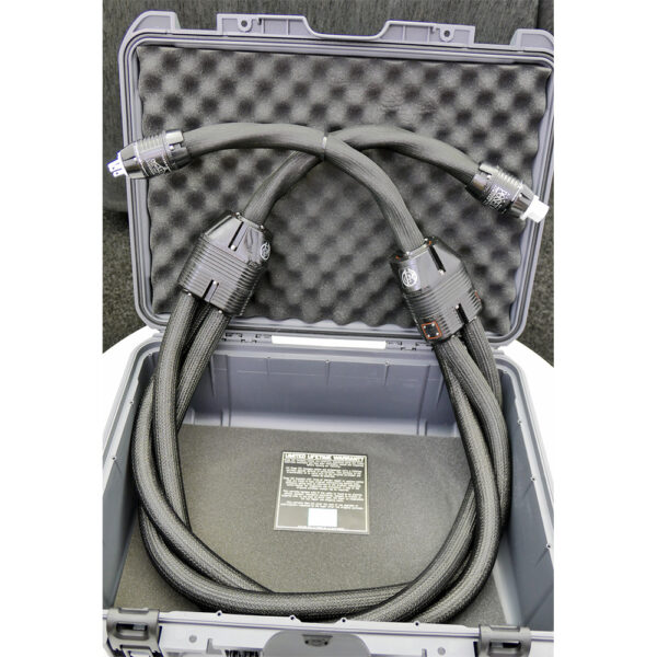 Stage III Concepts Poseidon Ultimate Statement Silver/Palladium Power Cables